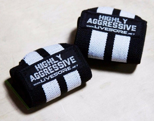 Highly Aggressive Wrist Wraps