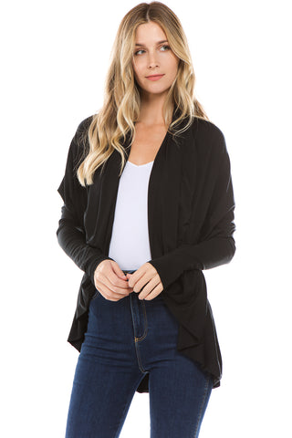 LIZ SHORT CARDIGAN(BLACK)-JT8298
