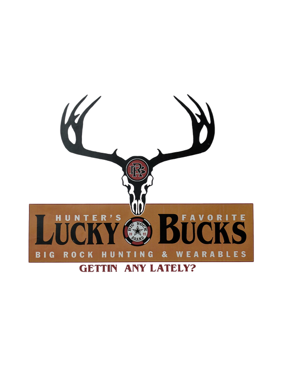 Value Rock Short Sleeve Lucky Bucks (Not a Big Rock Brand Shirt. Fit is like standard Tee)