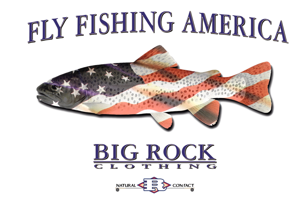 Value Rock Fly Fishing America (Fits Like Standard Tee)