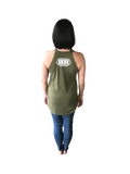Ladies Big Rock Rocker Tank