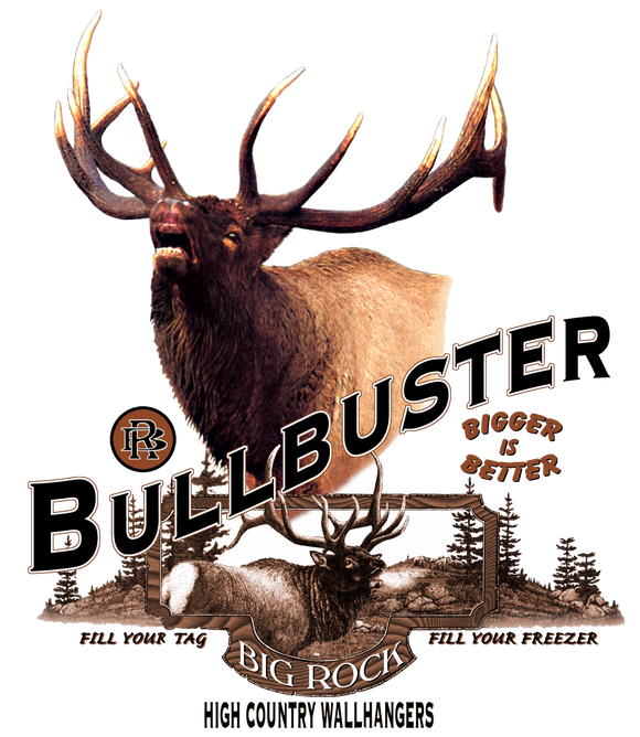 Value Rock Short Sleeve Bullbuster (Not a Big Rock Brand Shirt. Fit is like standard Tee)