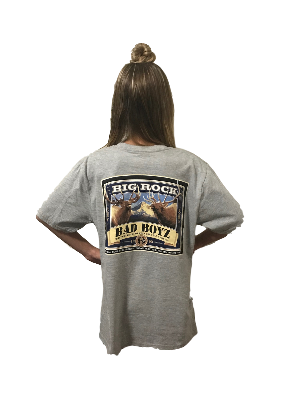 Kids Value Rock Short Sleeve Bad Boyz (Not a Big Rock Brand Shirt. Fit is like standard Tee)