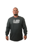 Long Sleeve National Pastime (Baseball) (Not a Big Rock Brand Shirt. Fit is like standard Tee)