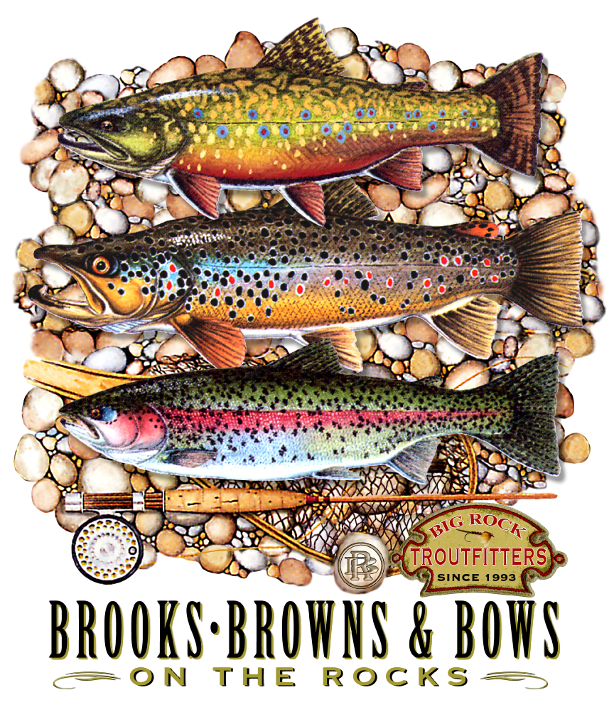 Vintage Rock Brooks, Browns & Bows
