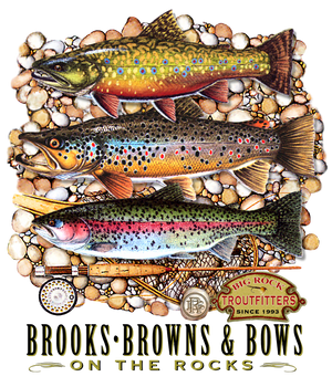 Classic Rock Brooks, Browns & Bows