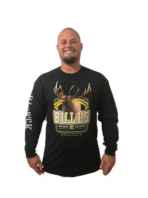 Long Sleeve Bulls All Stud ( Fit is like standard Tee)