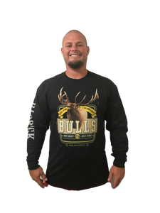 Long Sleeve Bulls All Stud (Not a Big Rock Brand Shirt. Fit is like standard Tee)