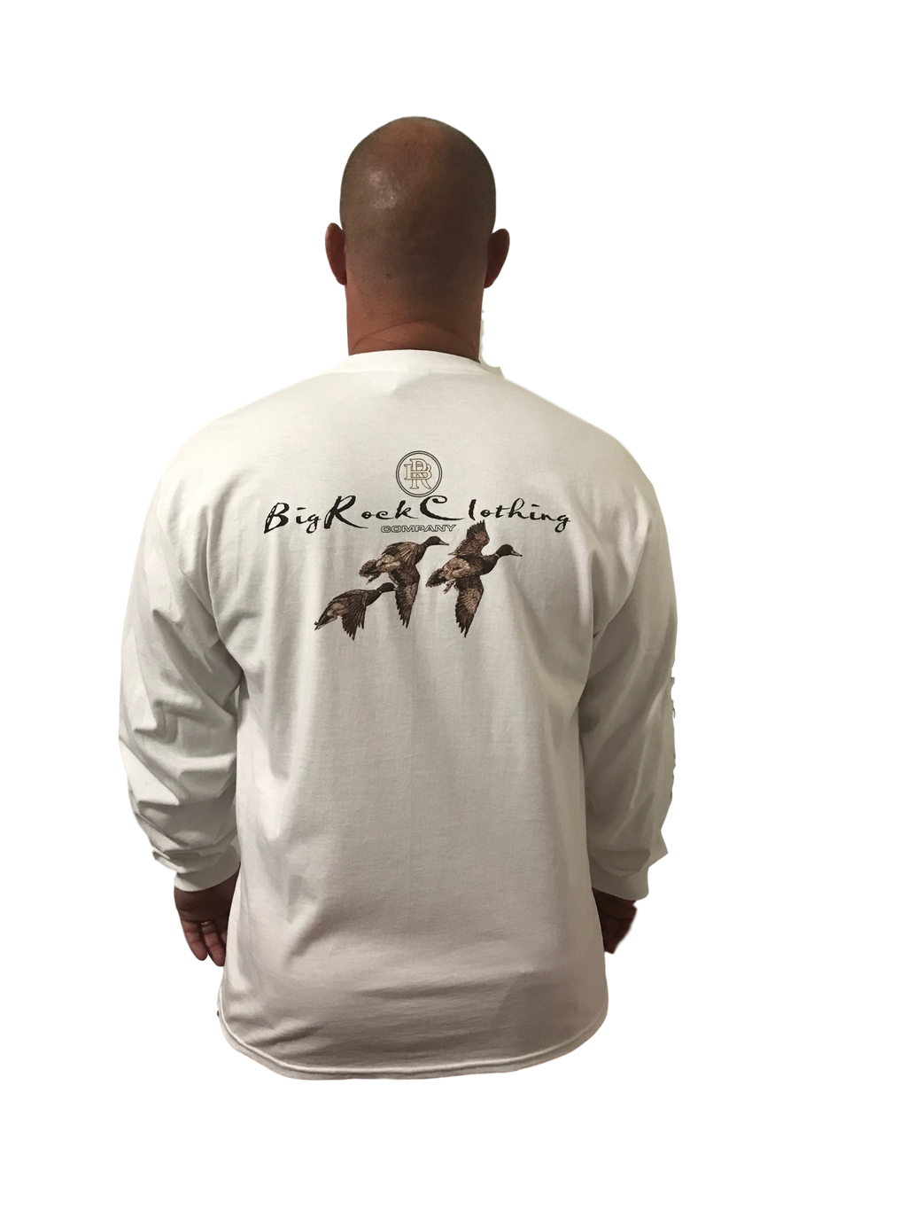 Long Sleeve Duck In Flight ( Fit is like standard Tee)