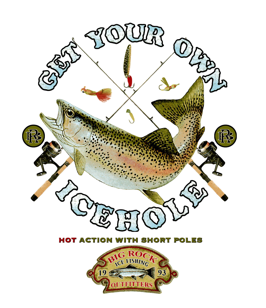 Value Rock Short Sleeve Get Your Own Icehole (Fit is like standard Tee)