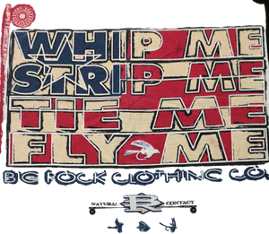 Classic Rock Whip Me Strip Me Tie Me Fly Me (Patriotic)