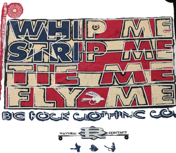 Value Rock Short Sleeve Whip Me Strip Me (Not a Big Rock Brand Shirt. Fit is like standard Tee)
