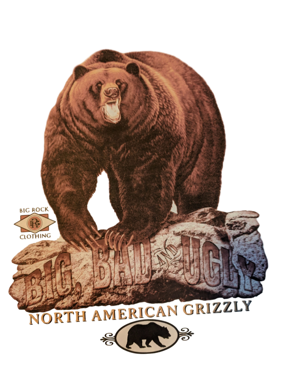 Classic Rock Big, Bad & Ugly Grizzly