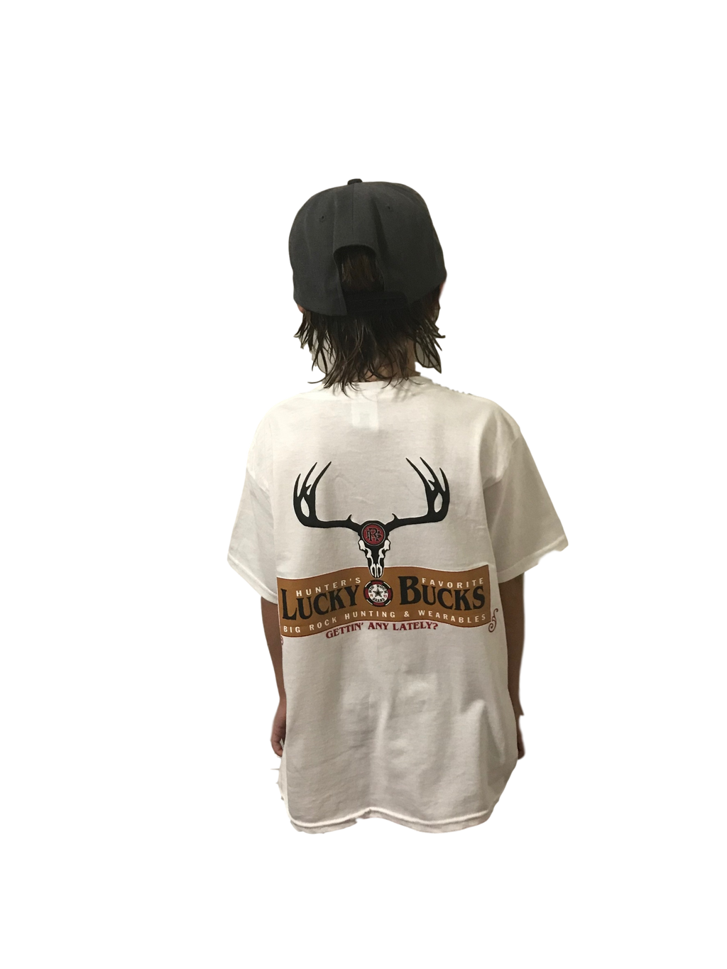 Kids Value Rock Short Sleeve Lucky Bucks (Not a Big Rock Brand Shirt. Fit is like standard Tee)