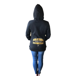 Ladies MDF Lightweight Fleece Hoodie