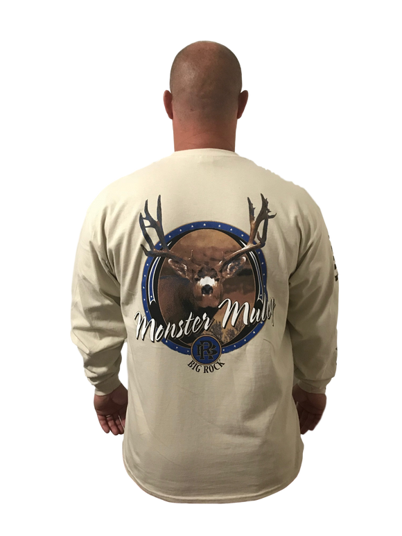 Long Sleeve Monster Muley (Not a Big Rock Brand Shirt. Fit is like standard Tee)