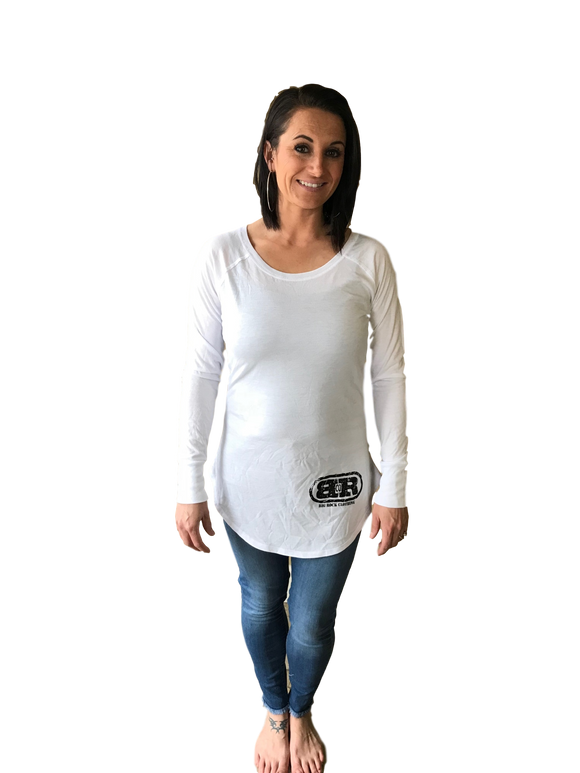 Ladies Big Rock Long Sleeve Tunic Tee