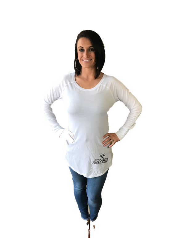 Ladies MDF Womens Long Sleeve Tunic Tee