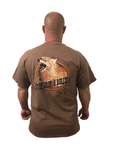 Value Rock Short Sleeve Stop Drop and Roll'em Coyote (Not a Big Rock Brand Shirt. Fit is like standard Tee)