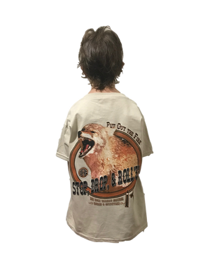 Kids Value Rock Short Sleeve Stop Drop and Roll'em Coyote (Fit is like standard Tee)