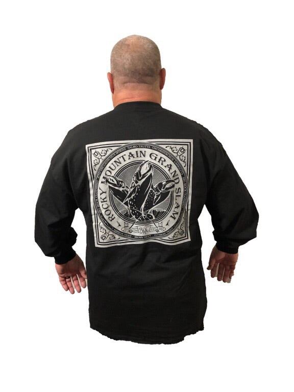 Long Sleeve Rocky Mountain Grand Slam (Not a Big Rock Brand Shirt. Fit is like standard Tee)