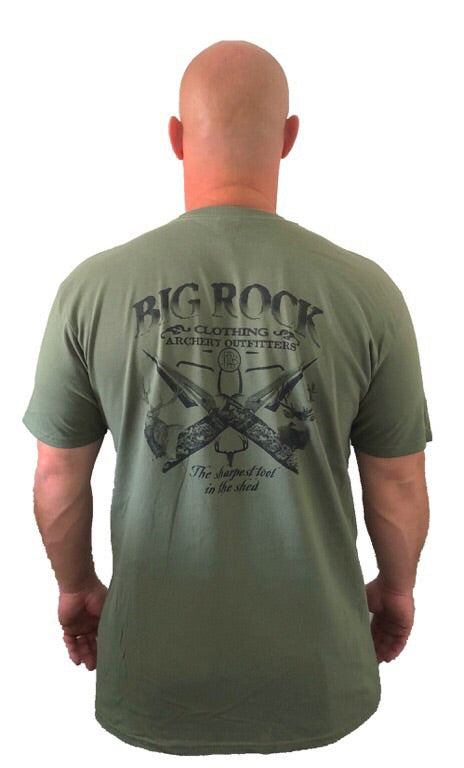 Value Rock- The sharpest tool in the shed (not a big rock brand shirt, fit is like a standard tee.)