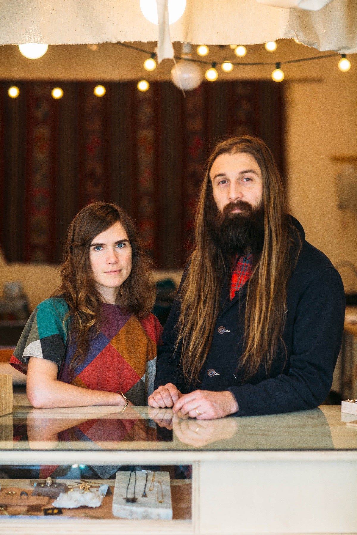 KARIE REINERTSON & ROB MADDOX: In that space where art and design meet