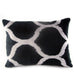 Nokta Ikat & Velvet Pillow