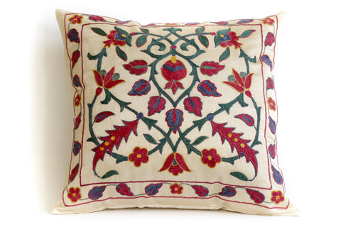 Crossroads Suzani Pillow