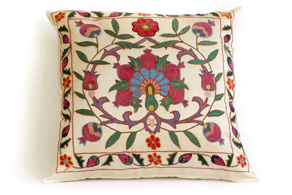 Spread Suzani Pillow