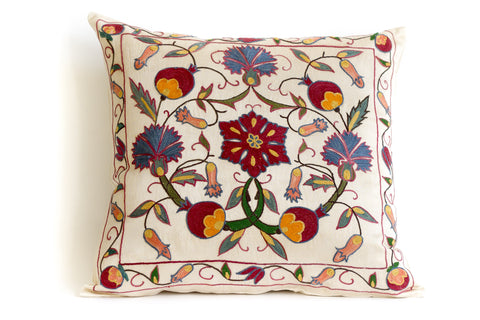 Fruit Suzani Pillow
