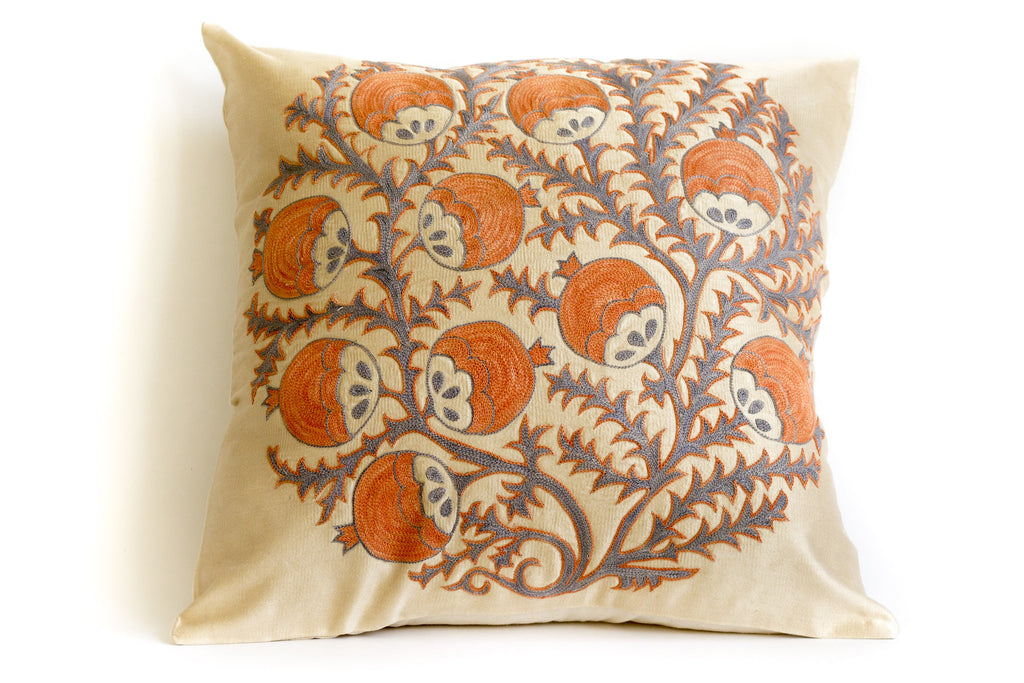 Sprout Suzani Pillow