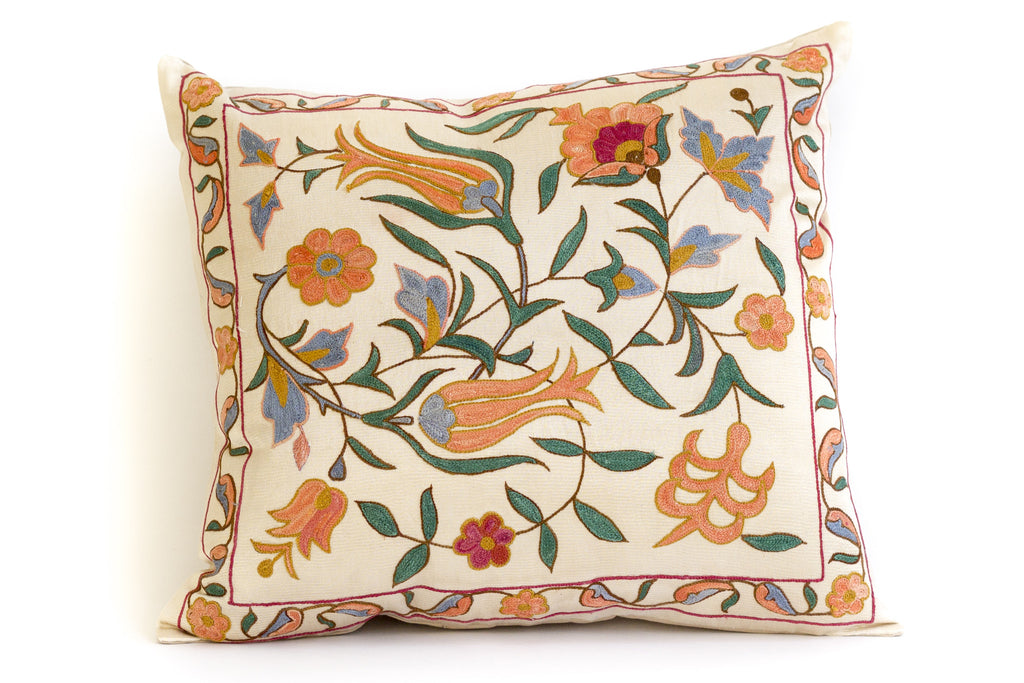 Buds Suzani Pillow