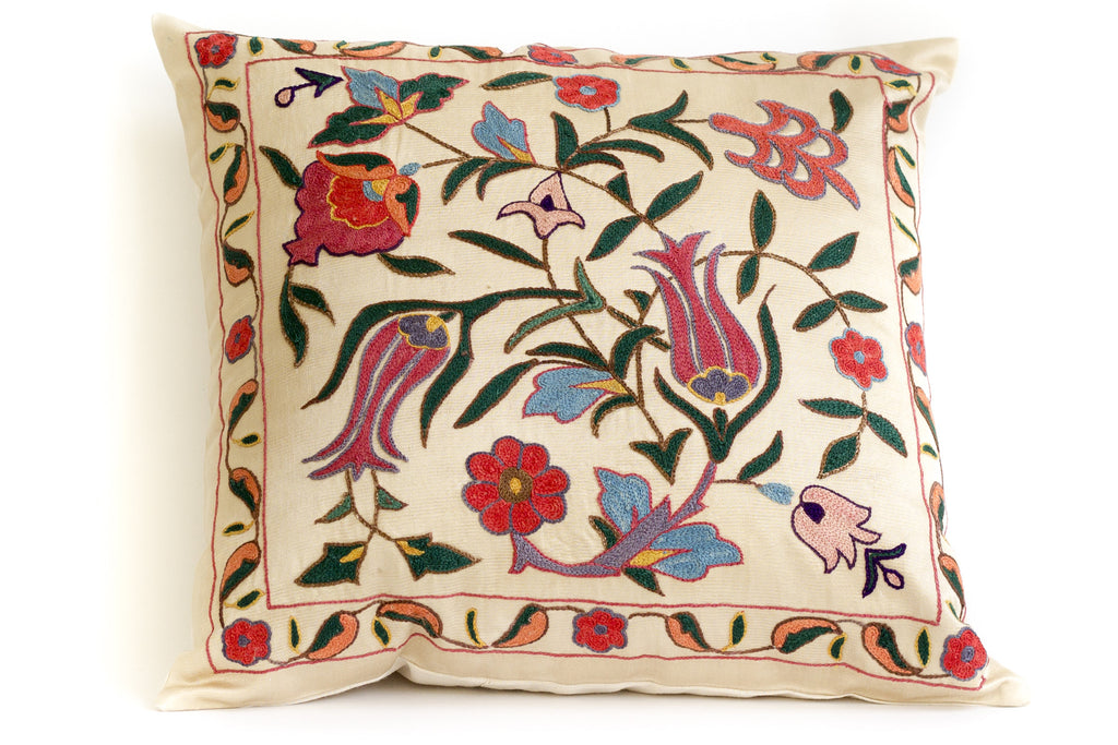 Floret Suzani Pillow