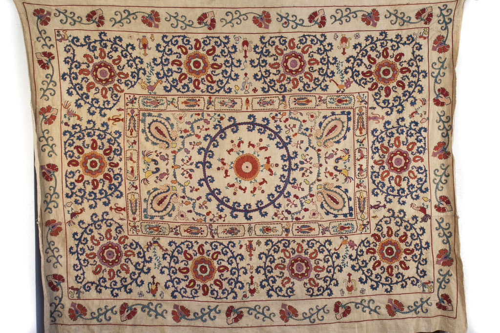 Large Suzani Fabric