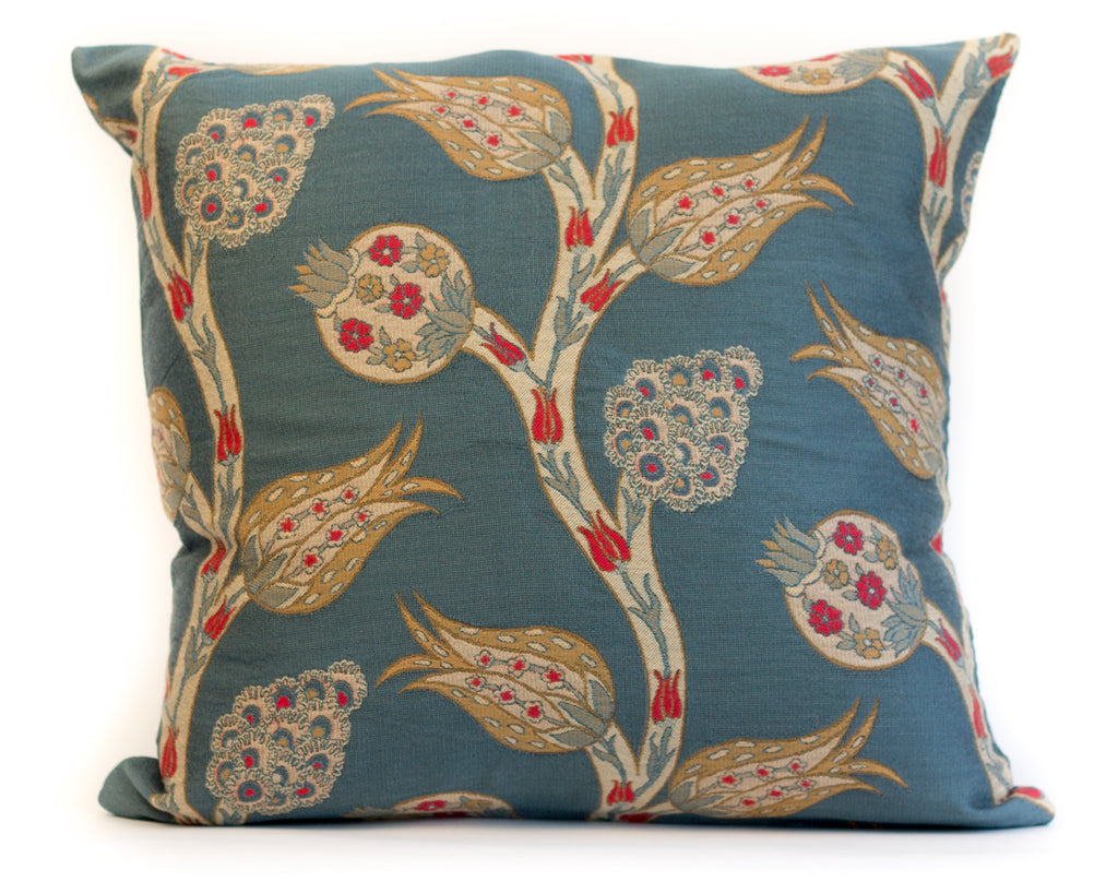 Pure Silk Bourgeon Jacquard Pillow