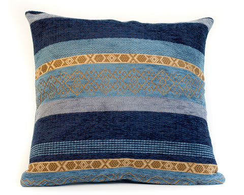 Pure Silk Losange Jacquard Pillow