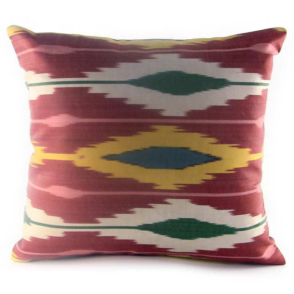 Hatlar Ikat Pillow