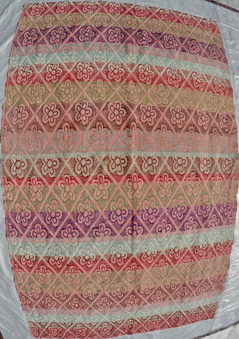 New Handwoven 100% Cotton Anatolian Kilim 5' X 8'2""