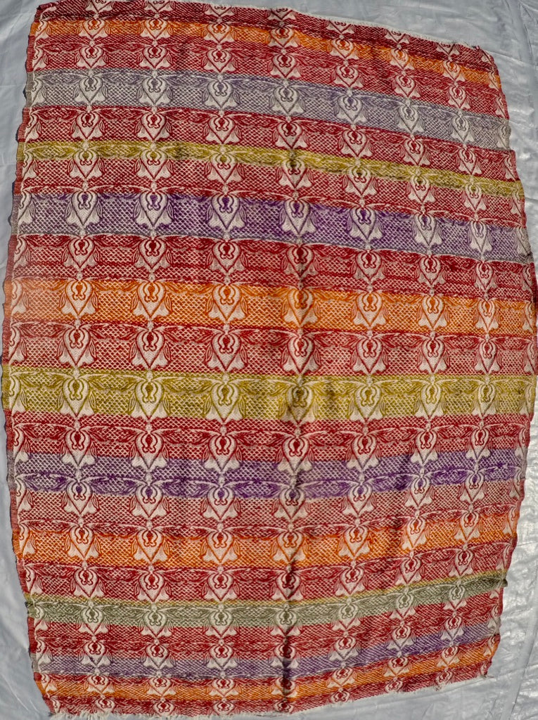 "New Handwoven 100% Cotton Anatolian Kilim 4'4"" X 6'4"""