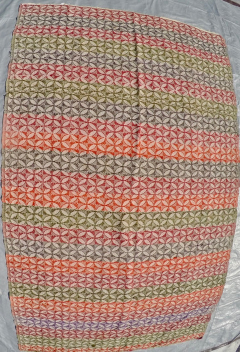 "New Handwoven 100% Cotton Anatolian Kilim 4'7"" X 7'8"""