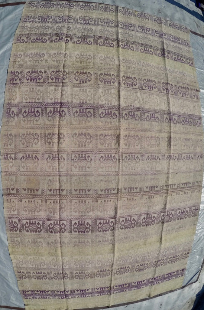 New Handwoven 100% Cotton Anatolian Kilim 5'10 X 10'