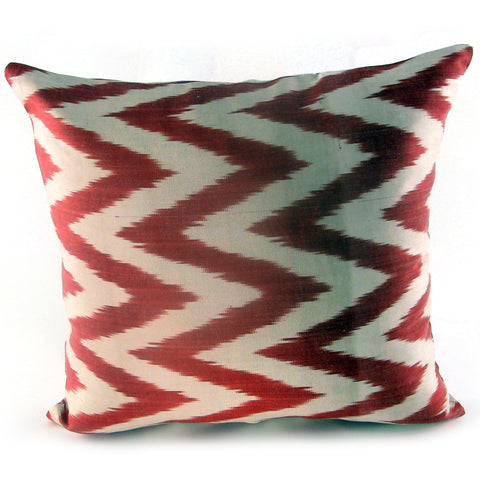 Atesh Ikat Pillow