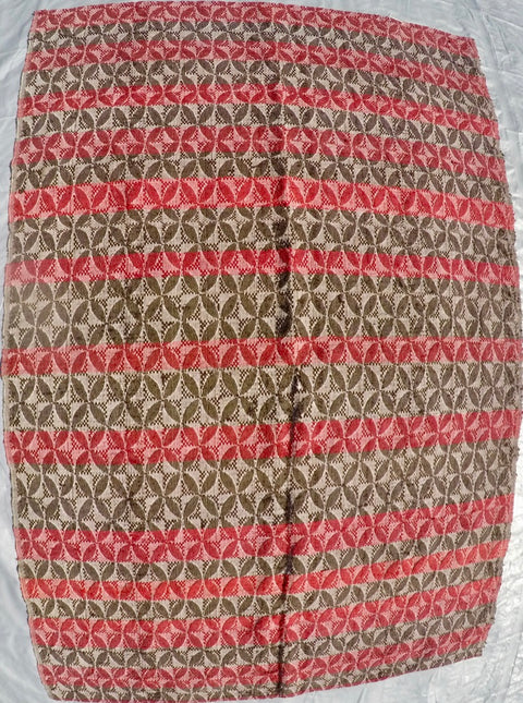 "New Handwoven 100% Cotton Anatolian Kilim 4'6"" X 7'1"""