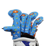 Birdies Leather Golf Head Covers - CraftsmanGolf