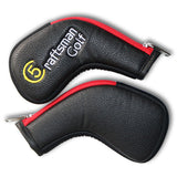 Multi Color Zipper Iron Head Cover Set - CraftsmanGolf