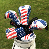 USA Flag Head Cover For Driver/Fairway wood/Hybrid - CraftsmanGolf