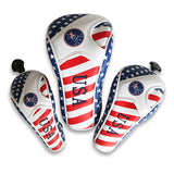 USA Flag Head Cover For Driver/Fairway wood/Hybrid
