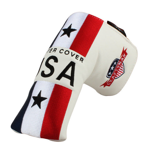 USA Stripe Blade Putter Head Cover - CraftsmanGolf