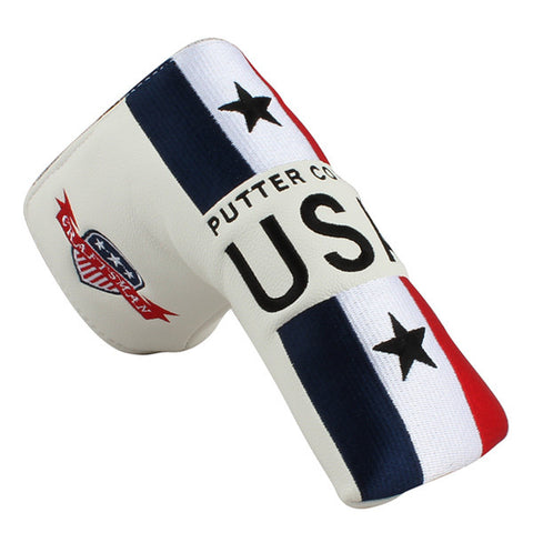 USA Stripe Blade Putter Head Cover